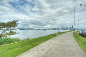 West Seattle waterfront Alki Beach