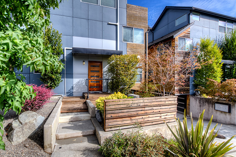 queen anne modern townhouse just listed